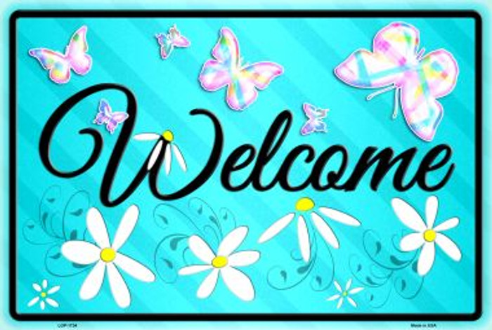 Welcome Novelty Large Parking Sign LGP-1734