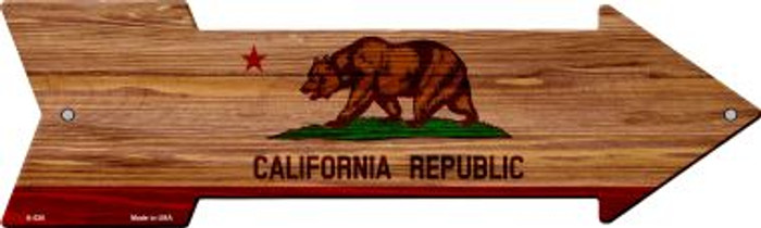 California State Flag Novelty Arrows A-526