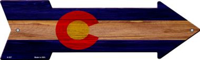 Colorado State Flag Novelty Arrows A-527