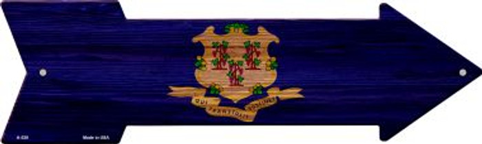 Connecticut State Flag Novelty Arrows A-528