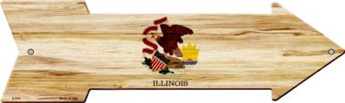 Illinois State Flag Novelty Arrows A-534