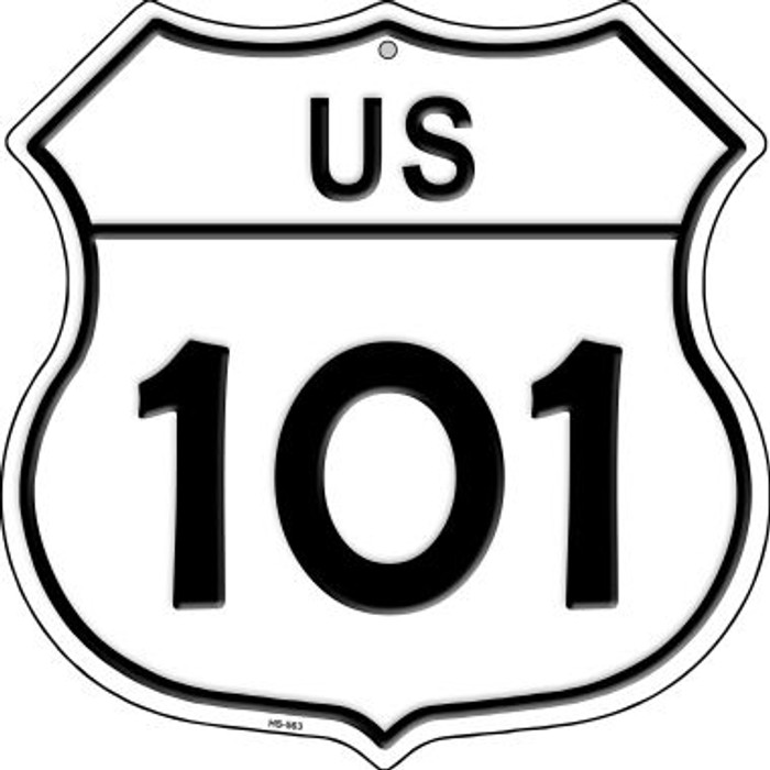 US Highway 101 Novelty Highway Shield HS-563