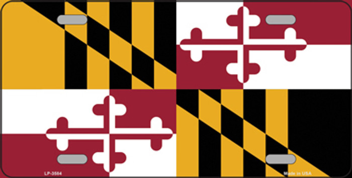 Maryland State Metal Novelty License Plate Tag LP-3584