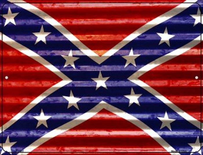 Confederate Flag Novelty Parking Sign P-2307