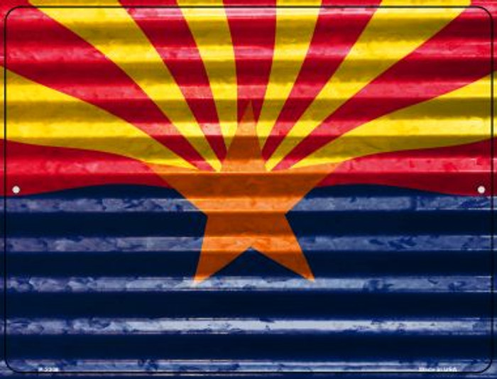 Arizona Flag Novelty Parking Sign P-2308