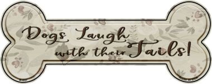Laugh With Tails Wholesale Novelty Bone Magnet B-027