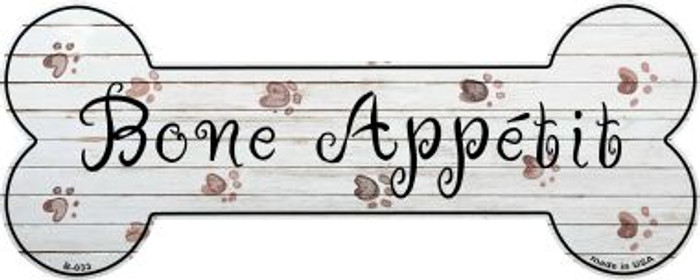 Bone Appetit Wholesale Novelty Bone Magnet B-033