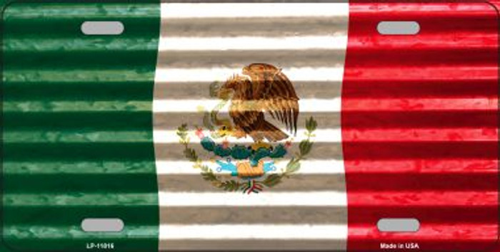 Mexico Flag Novelty License Plate LP-11816