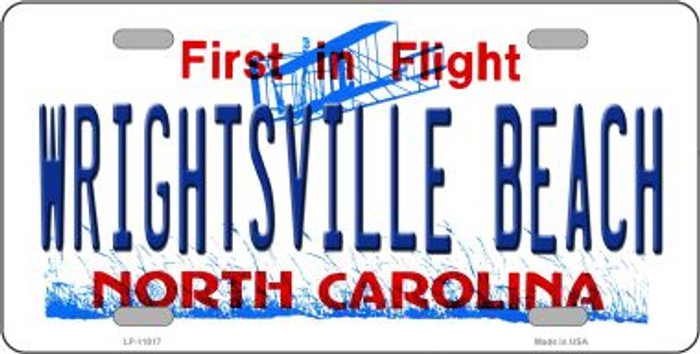 Wrightsville Beach North Carolina Novelty License Plate LP-11817