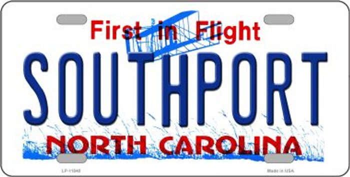 Southport North Carolina Novelty License Plate LP-11840