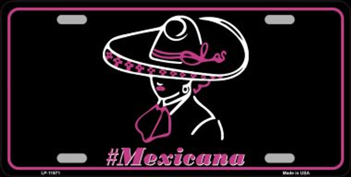 Hashtag Mexicana Novelty License Plate LP-11871
