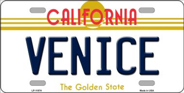 Venice California Novelty License Plate LP-11874