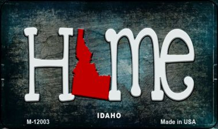 Idaho Home State Outline Novelty Magnet M-12003