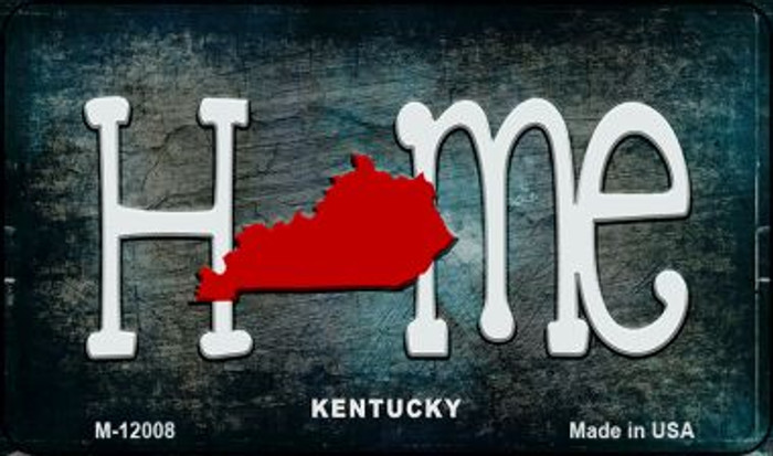 Kentucky Home State Outline Novelty Magnet M-12008