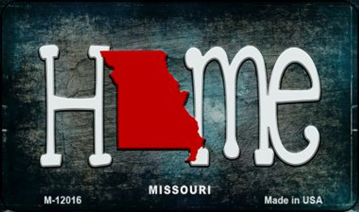 Missouri Home State Outline Novelty Magnet M-12016