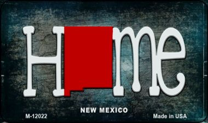 New Mexico Home State Outline Novelty Magnet M-12022