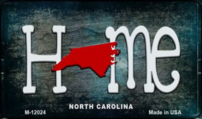 North Carolina Home State Outline Novelty Magnet M-12024