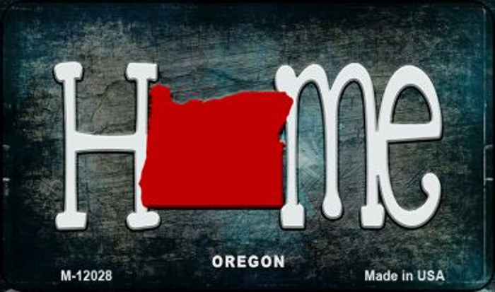 Oregon Home State Outline Novelty Magnet M-12028