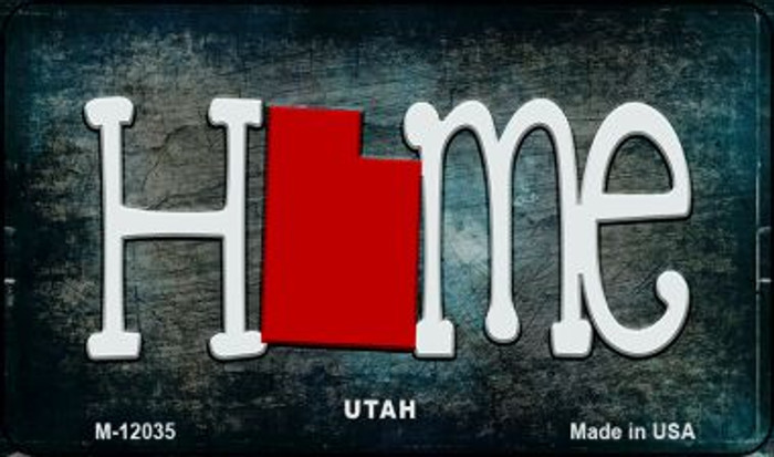 Utah Home State Outline Novelty Magnet M-12035