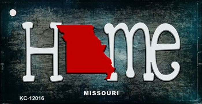 Missouri Home State Outline Novelty Key Chain KC-12016