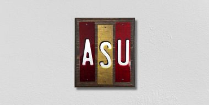 ASU Fun Strips Novelty Wood Signs WS-226