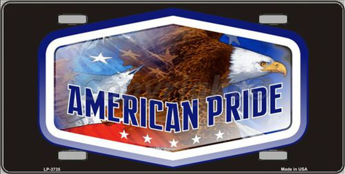 American Pride Metal Novelty License Plate LP-3735