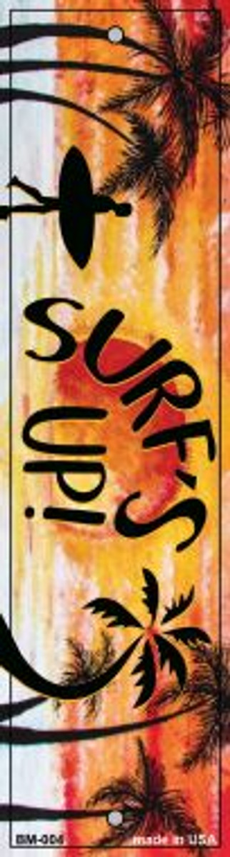 Surfs Up Novelty Metal Bookmark BM-004