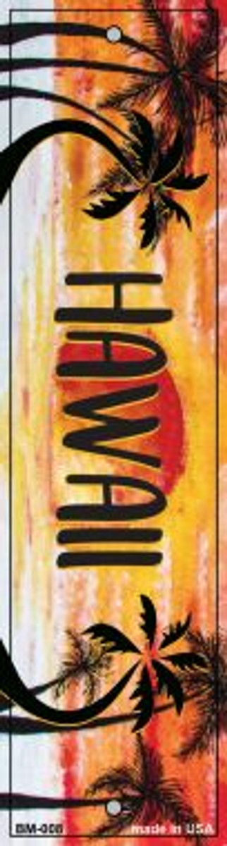 Hawaii Novelty Metal Bookmark BM-008