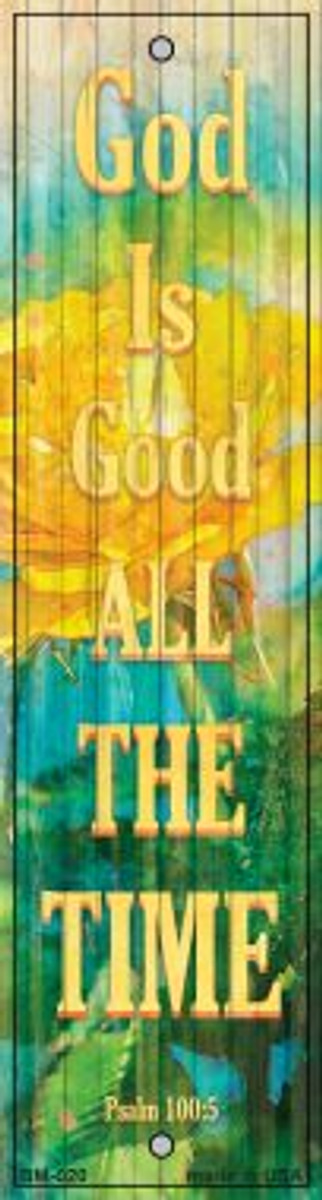 God Is Good Novelty Metal Bookmark BM-020