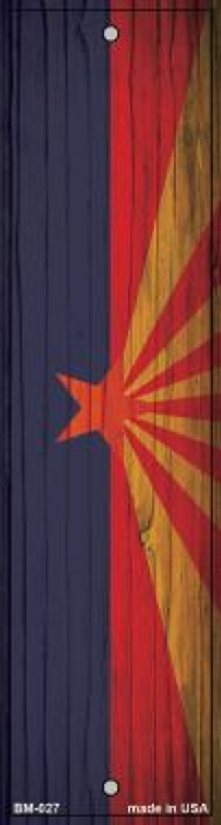 Arizona Flag Novelty Metal Bookmark BM-027