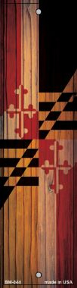Maryland Flag Novelty Metal Bookmark BM-044