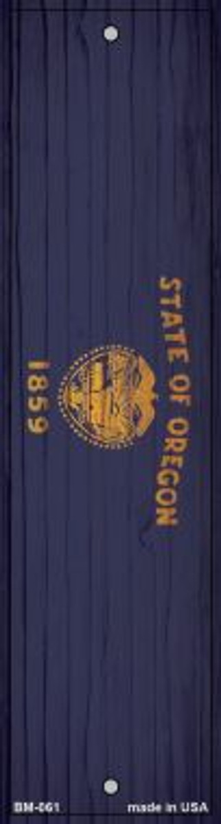 Oregon Flag Novelty Metal Bookmark BM-061