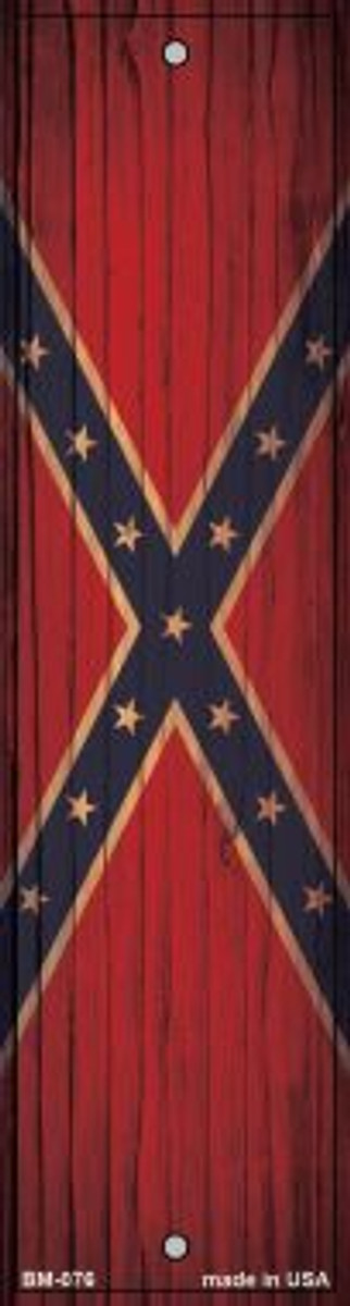 Confederate Flag Novelty Metal Bookmark BM-076
