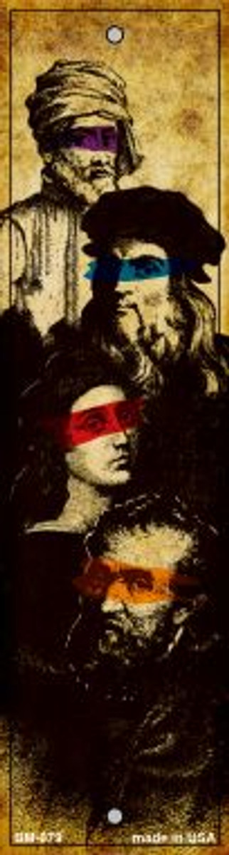 Renaissance Painters Novelty Metal Bookmark BM-079