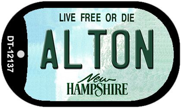 Alton New Hampshire Novelty Metal Dog Tag Necklace DT-12137