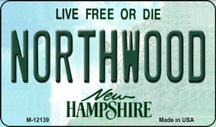 Northwood New Hampshire Novelty Metal Magnet M-12139