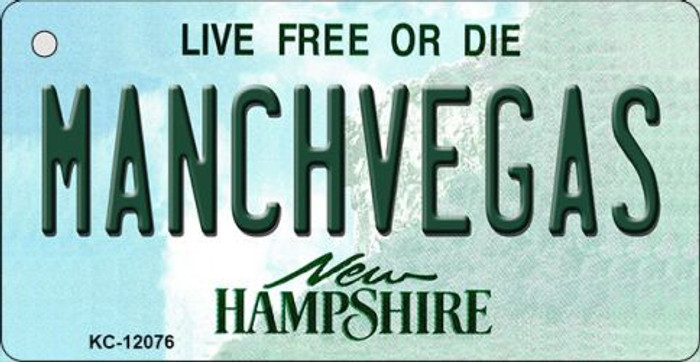 Manchvegas New Hampshire State Novelty Metal Key Chain KC-12076