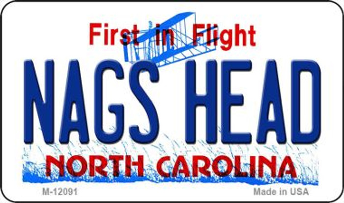 Nags Head North Carolina State Novelty Metal Magnet M-12091