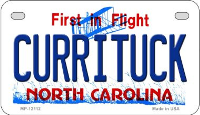 Currituck North Carolina State Novelty Metal Motorcycle Plate MP-12112