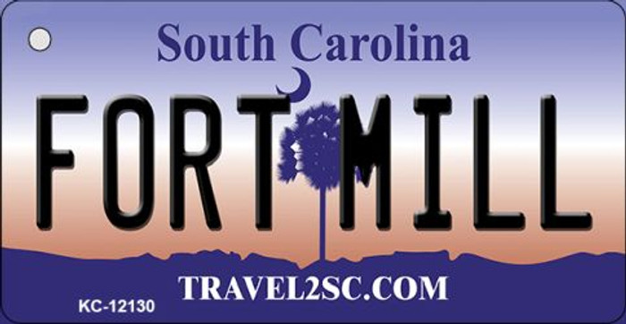 Fort Mill South Carolina State Novelty Metal Key Chain KC-12130