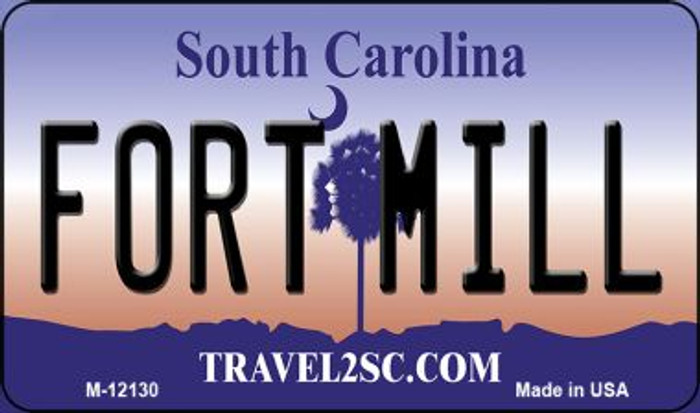 Fort Mill South Carolina State Novelty Metal Magnet M-12130