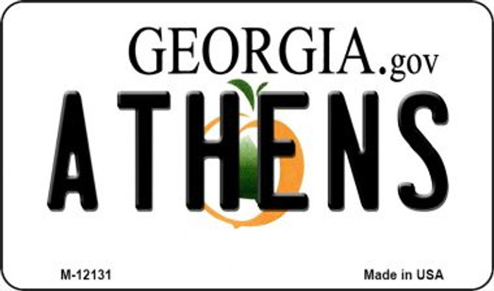 Athens Georgia State Novelty Metal Magnet M-12131