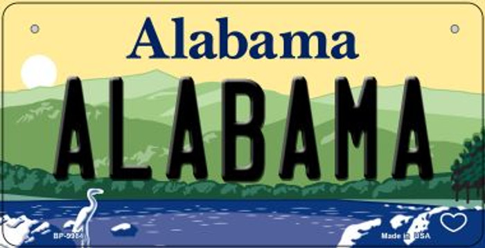 Alabama Novelty Metal Bicycle Plate BP-9984