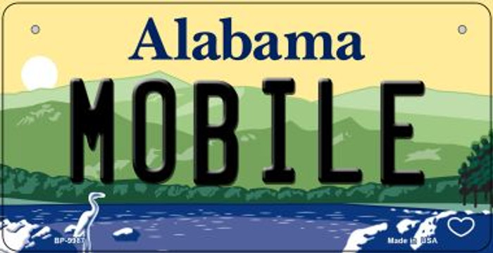 Mobile Alabama Novelty Metal Bicycle Plate BP-9987