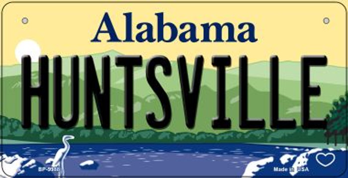 Huntsville Alabama Novelty Metal Bicycle Plate BP-9988