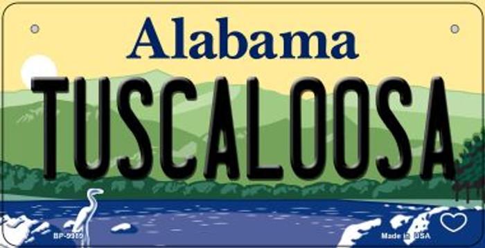 Tuscaloosa Alabama Novelty Metal Bicycle Plate BP-9989