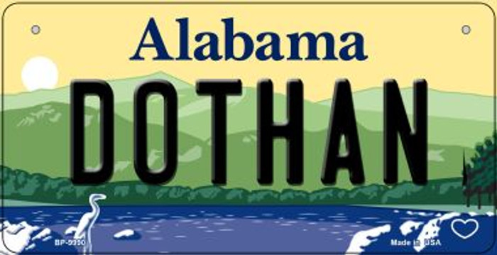Dothan Alabama Novelty Metal Bicycle Plate BP-9990