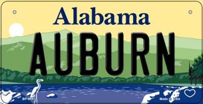 Auburn Alabama Novelty Metal Bicycle Plate BP-9991