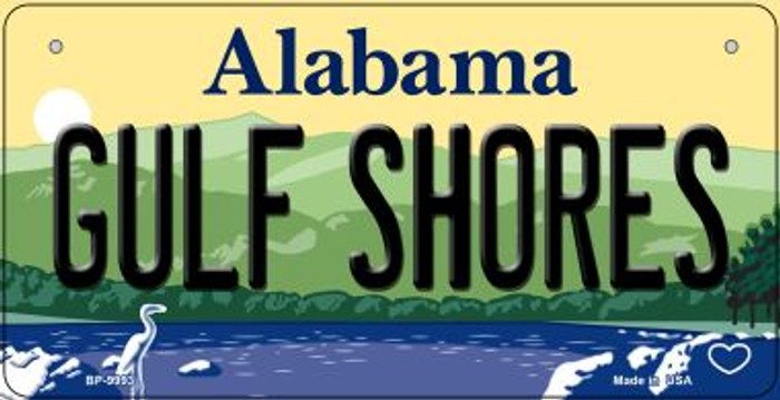 Gulf Shores Alabama Novelty Metal Bicycle Plate BP-9993