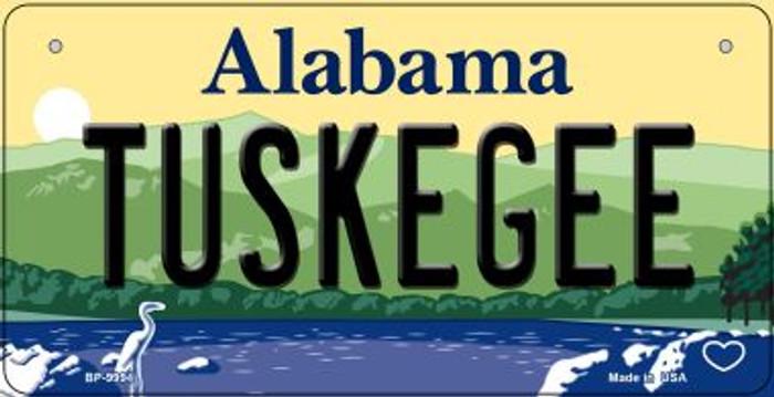 Tuskegee Alabama Novelty Metal Bicycle Plate BP-9994